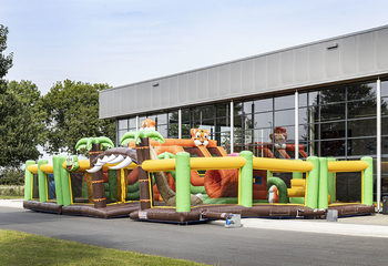 Bounce World Jungle vooraanzicht rechts